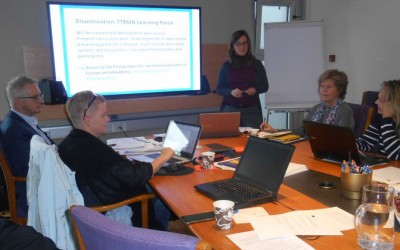 Kick-off Meeting TTRAIN – Tourism Training the Trainers