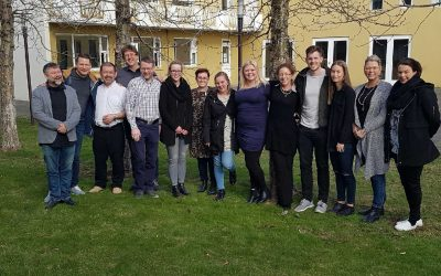 The first 12 graduates of TTRAIN training in Iceland!